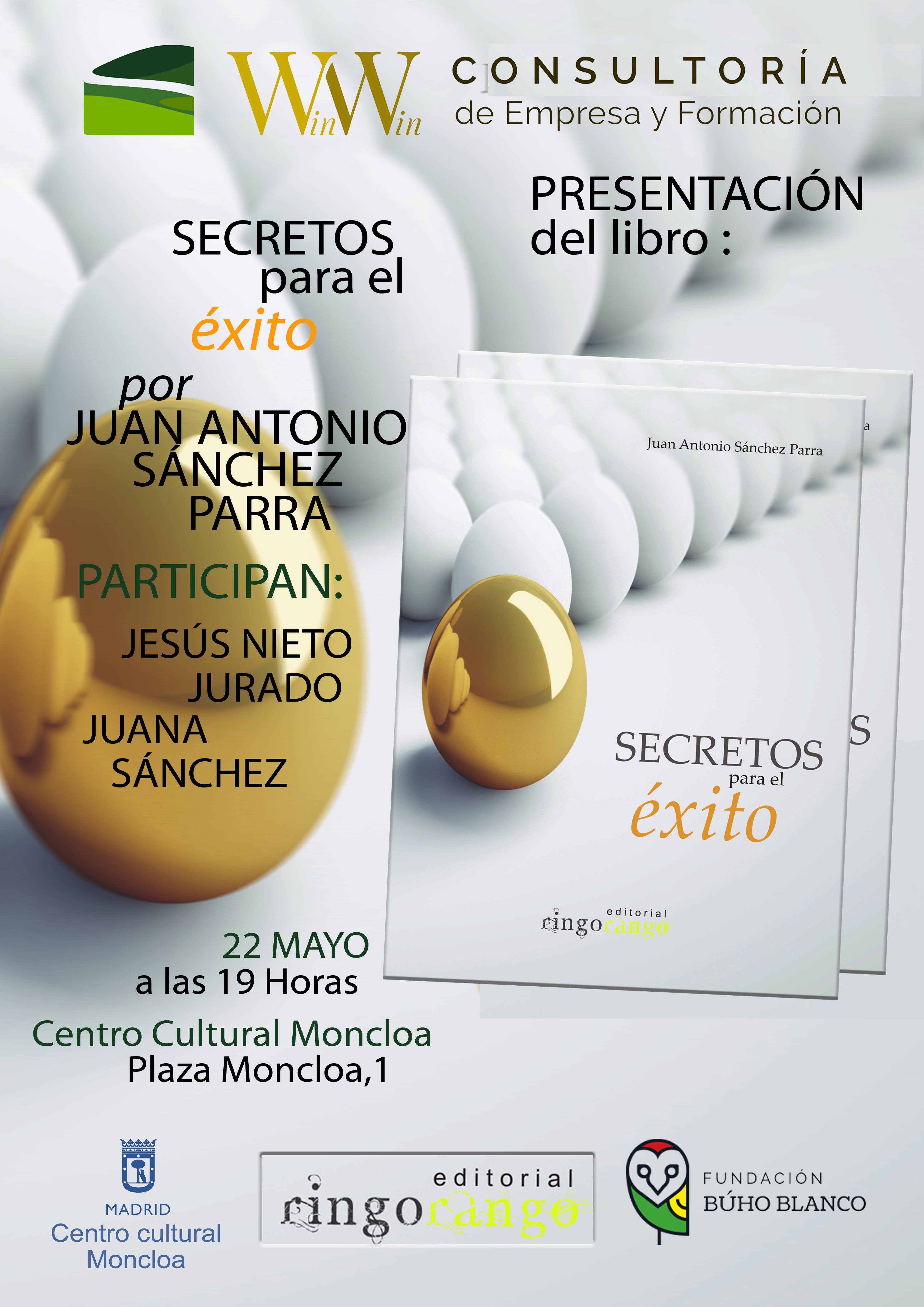 Win Win Consultoría Cartel Presentación Madrid