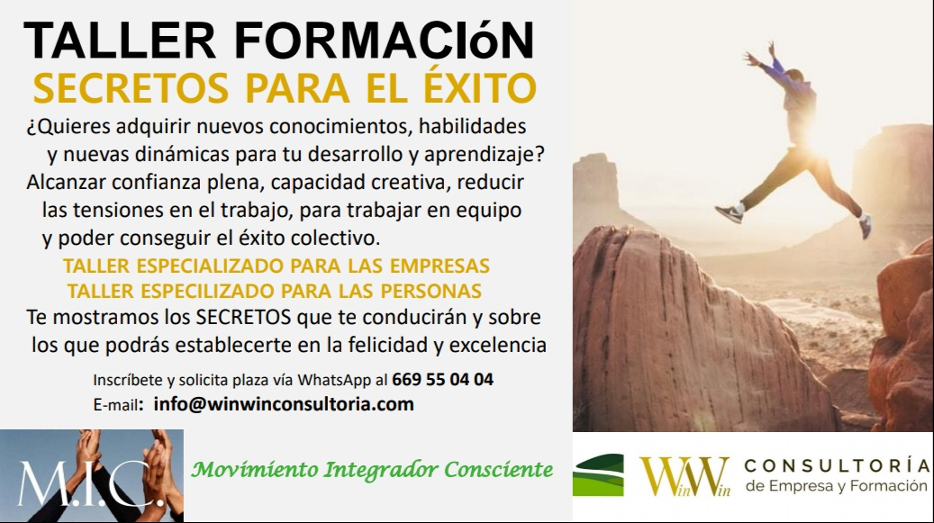 Win Win Consultoría Taller Éxito & Sistema Rolando Toro