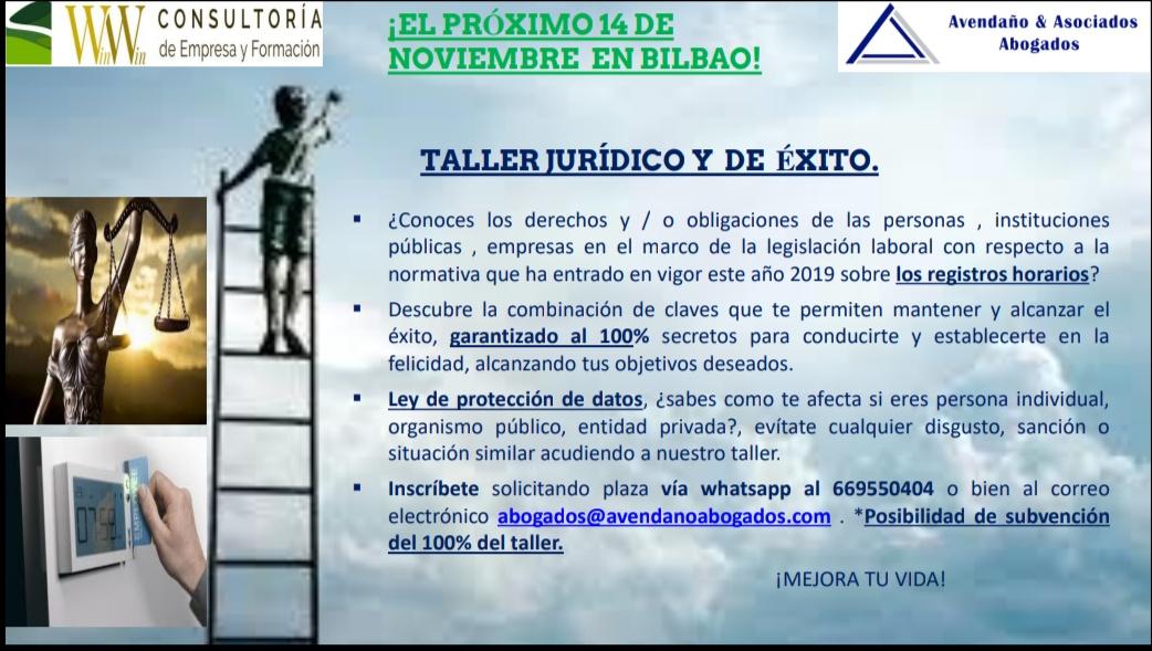 Win Win Consultoría Taller Jurídico Laboral & Éxito